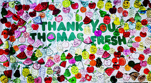 Thank you thomas fresh kids poster