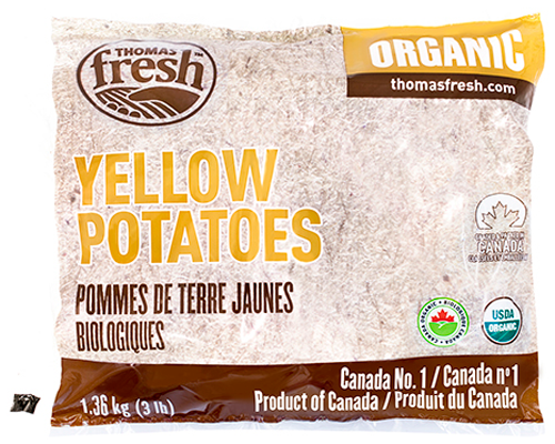 3 lbs Organic Yellow Potatoes - Thomas Fresh