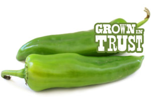 Anaheim peppers - Grown in Trust