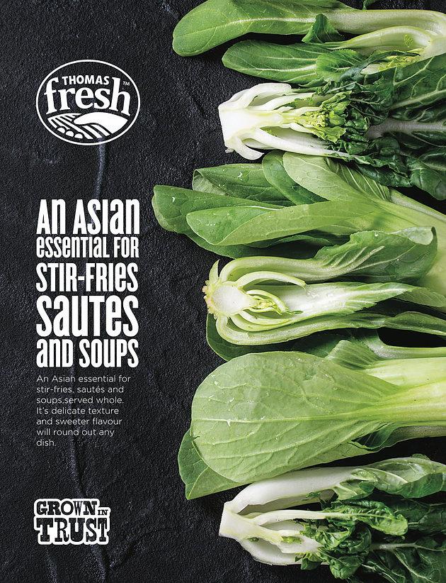 Bok Choy poster - Thomas Fresh