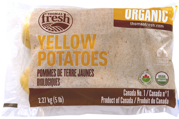 5lbs Yellow Organic Potatoes - Thomas Fresh