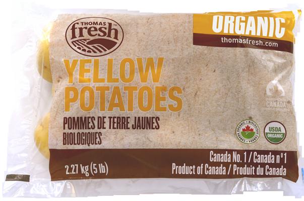 5lbs Yellow Organic Potatoes - Thomas Fresh