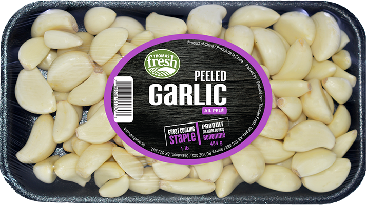 Peeled Garlic - Thomas Fresh