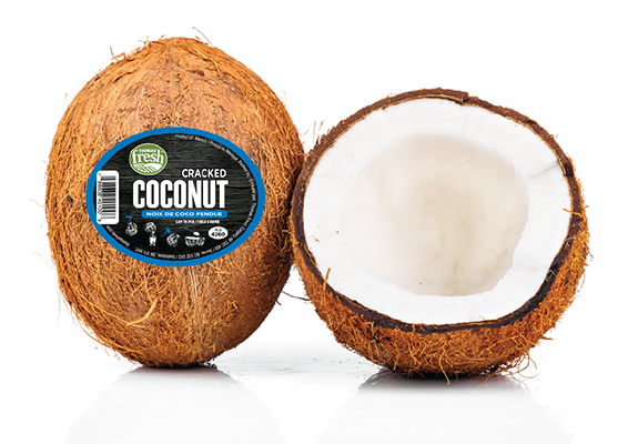 Quick Cracked Coconut - Thomas Fresh