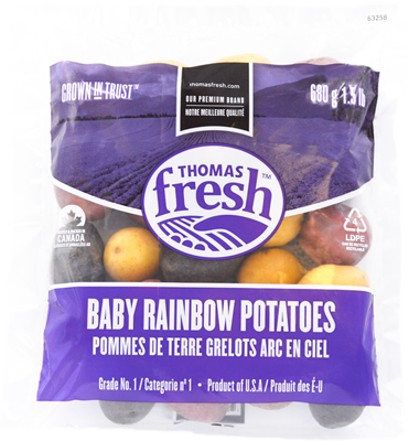 1.5lb bag rainbow potatoes - Thomas Fresh