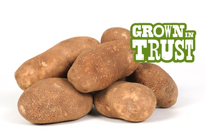 Russet potatoes - Grown in Trust by Thomas Fresh