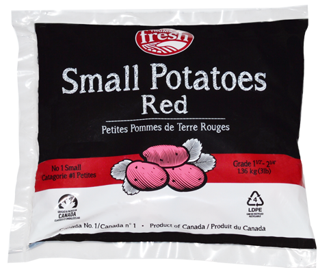 3 lb bag small red potatoes - Thomas Fresh