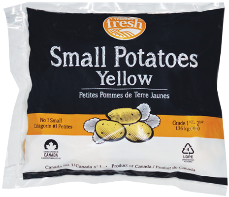 3 lb small yellow potatoes - Thomas Fresh