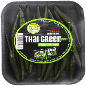 Thai Green Chili Peppers - Thomas Fresh