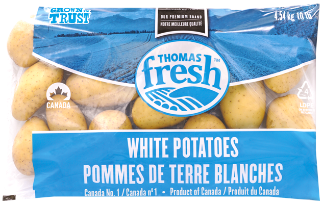 10 lb bag White Potatoes - Thomas Fresh