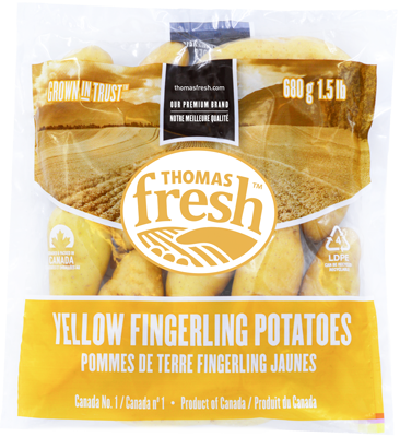 1.5lb bag yellow fingerling potatoes - Thomas Fresh