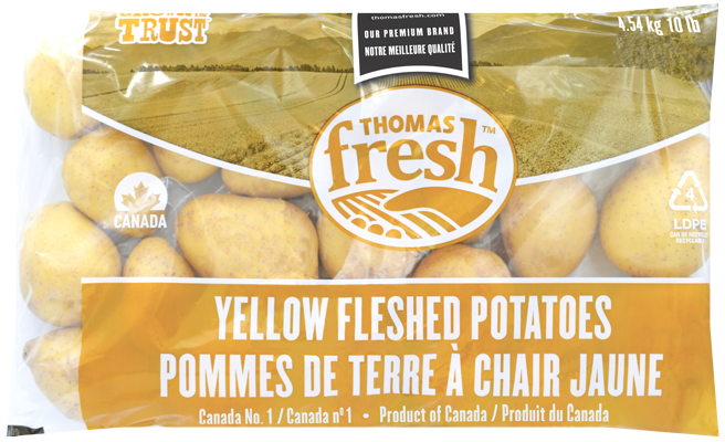 10lb bag yellow potatoes - Thomas Fresh