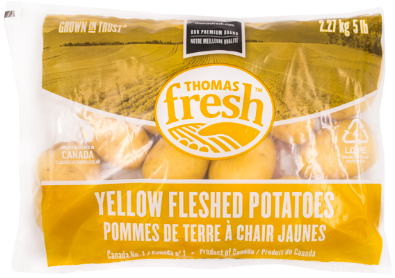 5 lb bag Yellow Potatoes - Thomas Fresh