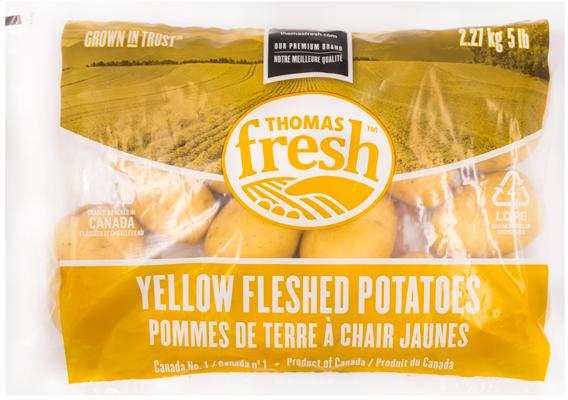 5 lb bag Yellow Potatoes - Thomas Fresh