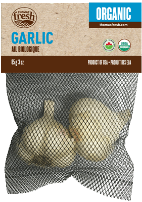 Organic Garlic - Thomas Fresh