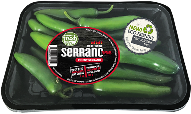 Serrano Peppers - Thomas Fresh