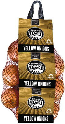 10lbs Costco bag yellow onions - Thomas Fresh