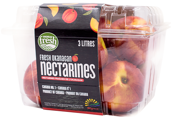 Nectarines - 3 litres - Thomas Fresh