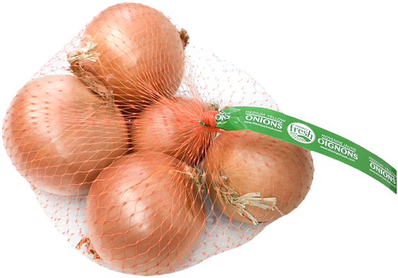 2 lbs yellow onions - Thomas Fresh
