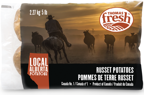 Alberta Russet Potatoes - 5lb bag - Thomas Fresh
