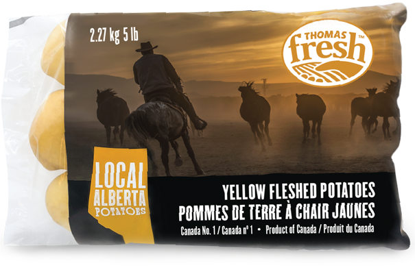 Alberta Yellow Potatoes - 5lb bag - Thomas Fresh