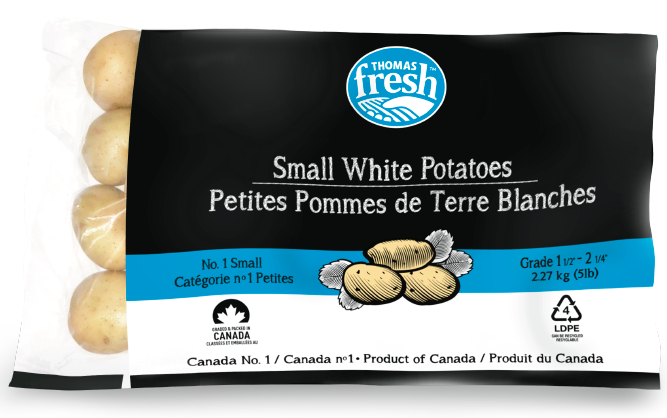 Thomas Fresh - 5lb white small potatoes