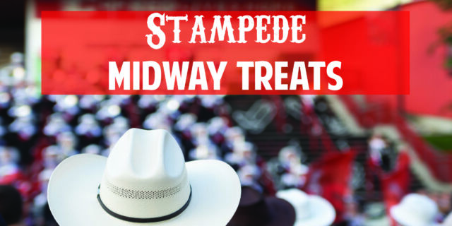 Stampede midway snacks, treats