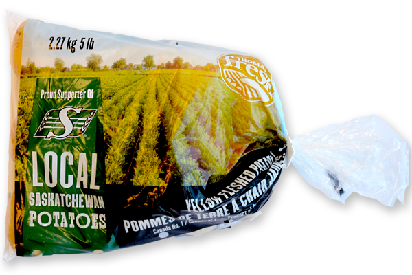 Thomas Fresh Saskatchewan Potatoes Yellow 5 lbs